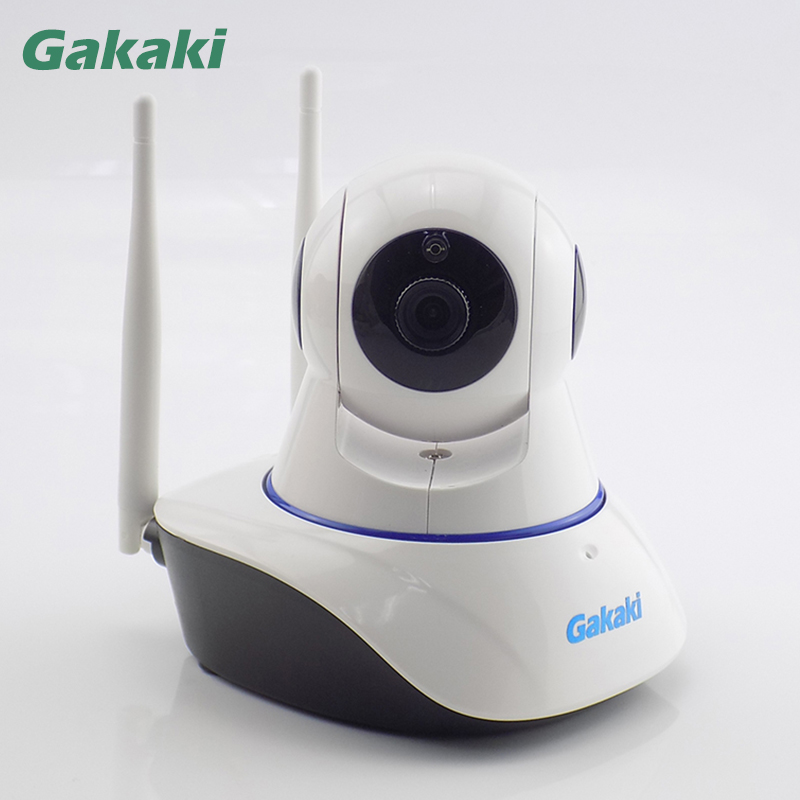 Gakaki Wifi IP Camera Wireless Home Security Onvif P2P Network Baby Monitor Indoor Surveillance IR-Cut Night Vision CCTV Camera