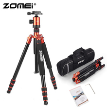 ZOMEI Z818 Camera Tripod & Monopod Lightweight Travel with 360 Degree Ball Head and Carry Bag for SLR DSLR Digital