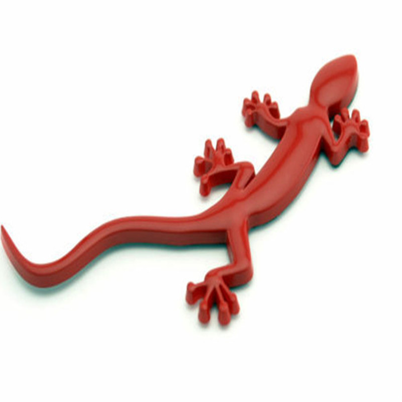 Auto ABS Lizard Gecko Badge Car Styling Fit For Audi A4 A3 A5 Q3 Quattro TT S3 S5 RS3 RS4 Sticker Red Decoration Car Accessories oem glove box lights set 8kd 947 415 c 4b0 947 415 a 8d0 947 415 fit vw audi a3 a4 a5 a6 allroad quattro a7 q3 q5 q7 tt