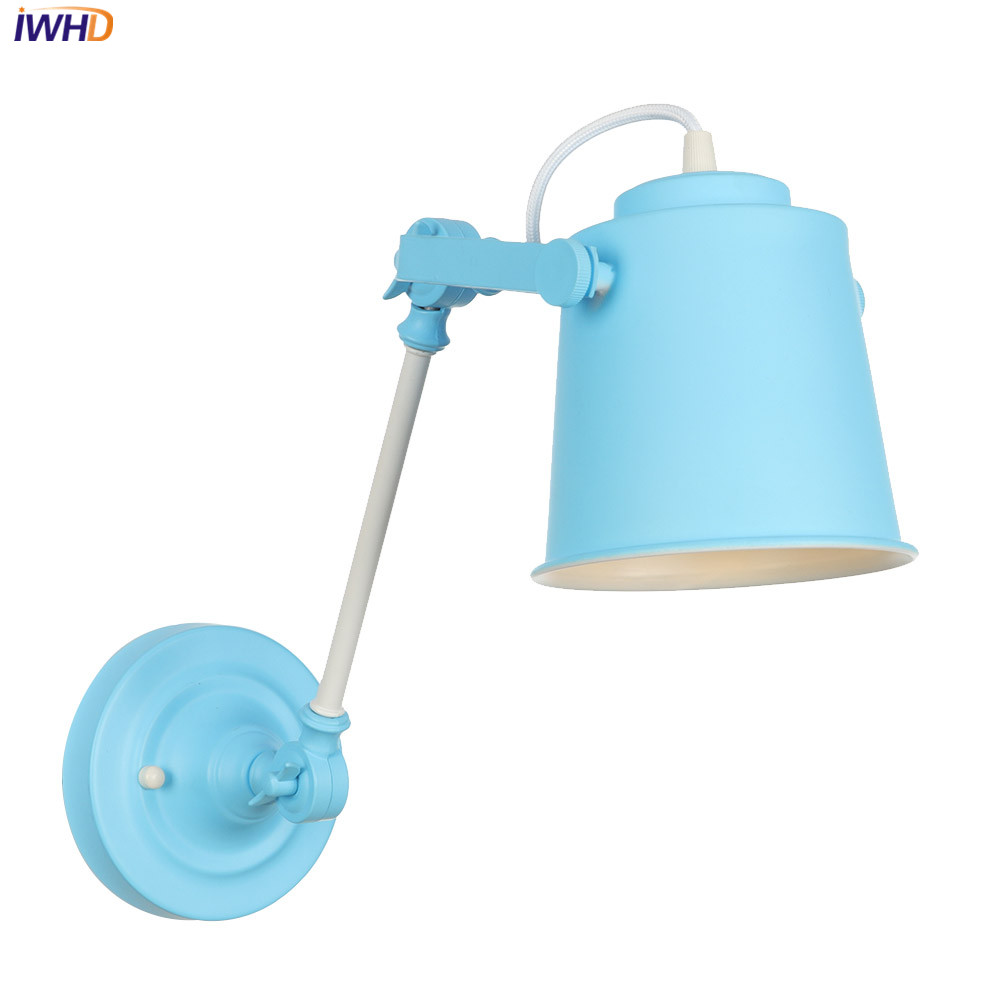 IWHD Vintage Nordic Wall Lamp Loft Industrial LED Wall Light Wandlamp E27 Retro Wall Lamp For Home Lighting Applique Luz ParedIWHD Vintage Nordic Wall Lamp Loft Industrial LED Wall Light Wandlamp E27 Retro Wall Lamp For Home Lighting Applique Luz Pared