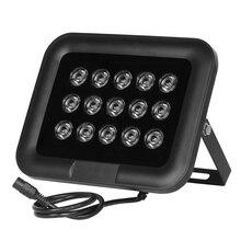 NEW CCTV LEDS 15IR infrared Array illuminator infrared/white light IP65 850nm metal Waterproof Night Vision for CCTV camera