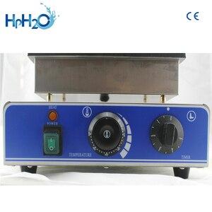 Image 5 - 商業ce電気 110v 220v個キャンディーワッフルメーカーマシンワッフルスティックパンワッフル鉄ケーキオーブン