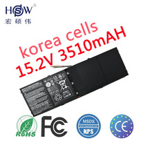 Free shipping New Original 15.2V 53Wh 3510mAh AP13B8K Battery For Acer Aspire V5 M5-583P V5-572P V5-572G Notebook 4ICP6/60/78 цена