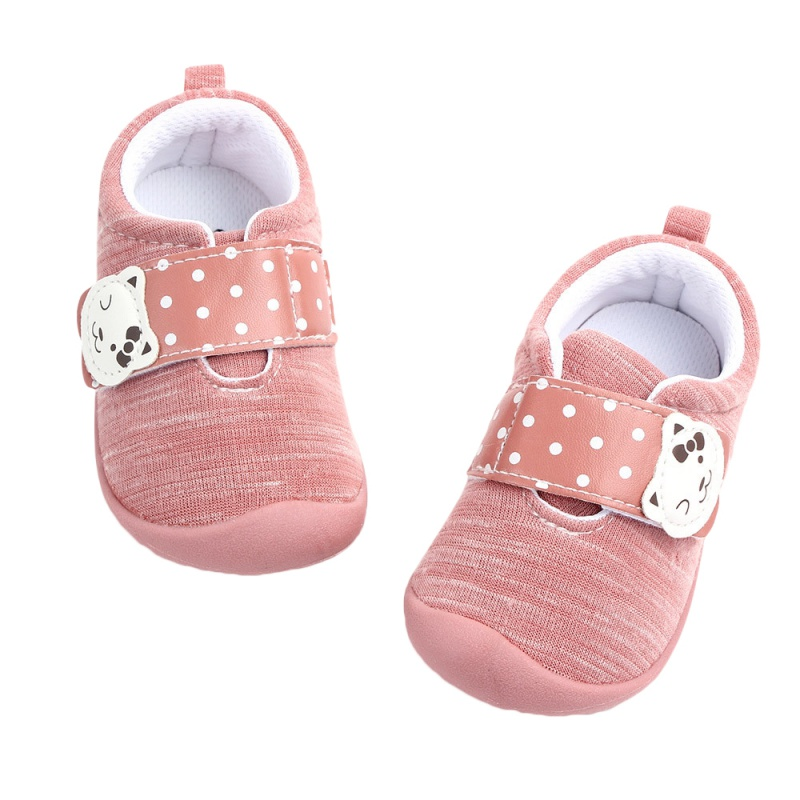 Baby Girl Shoes Causal Style Cotton Baby Shoes Infant First Walkers Non-slip Soft Sole Toddler Footwear