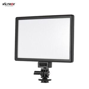 Image 1 - Viltrox L116T Foto Studio Licht Fotografie Verlichting Led Video Licht Camera Video Light Voor Canon Nikon Camera Dv Camcorder