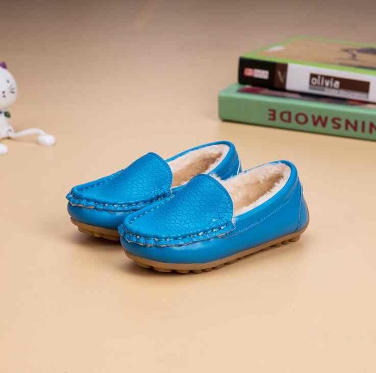 2019 รองเท้าเด็กใหม่ฤดูหนาวรองเท้า Classic Plus กำมะหยี่อบอุ่นรองเท้าสำหรับเด็กรองเท้าเด็ก Unisex เด็กแฟชั่นรองเท้าผ้าใบขนาด 21-37