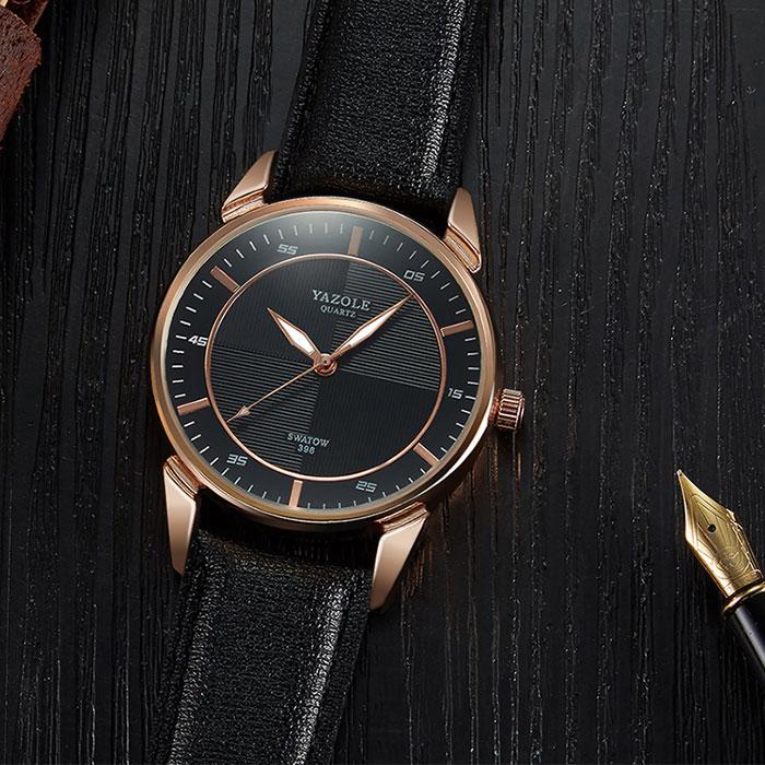 YYAZOLE Business New Wrist Watch Men Watches Top Brand Luxury Famous Male Clock Quartz Wristwatch For Men Hour Relogio Masculino Islamabad