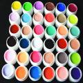 36 Colors/set  Nail Varnish Pure Colour uv gel, Uv gel Set, Builder Gel for nail  art Tools