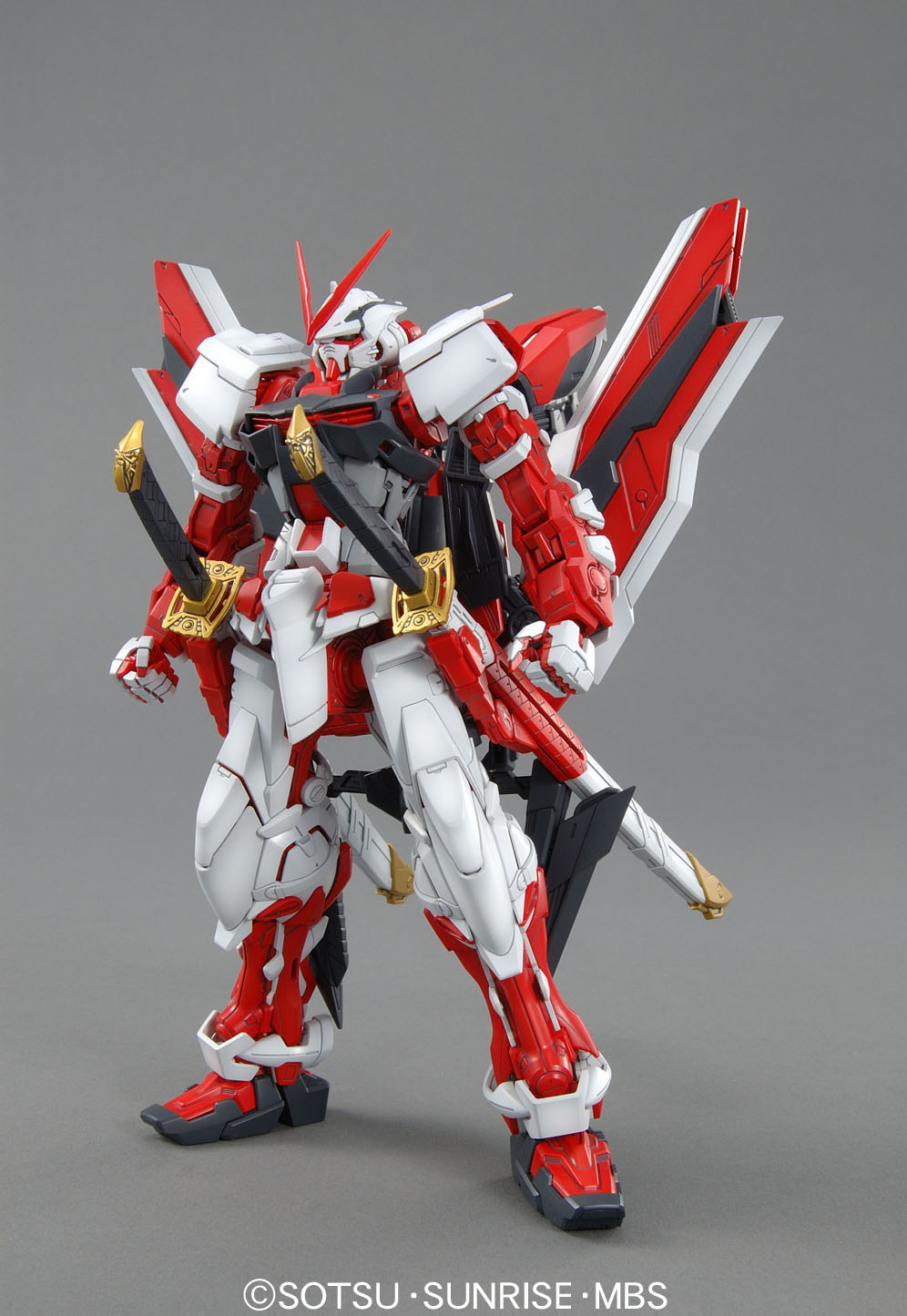 Bandai Gundam MG Original Red Japan Anime Action Toy Figures Christmas Gift Assemble Model Robot Children Collection HGD-162047 цена и фото