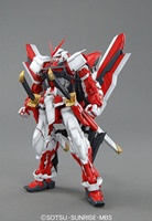 Bandai Gundam MG Original Red Japan Anime Action Toy Figures Christmas Gift Assemble Model Robot Children Collection HGD 162047