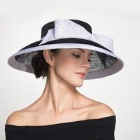 Sedancasesa Fashion Summer Hats for Women Sun Visors Cap Handmade Bowknot Ladies Vacation Hat Beach Caps for Girls Sombreros