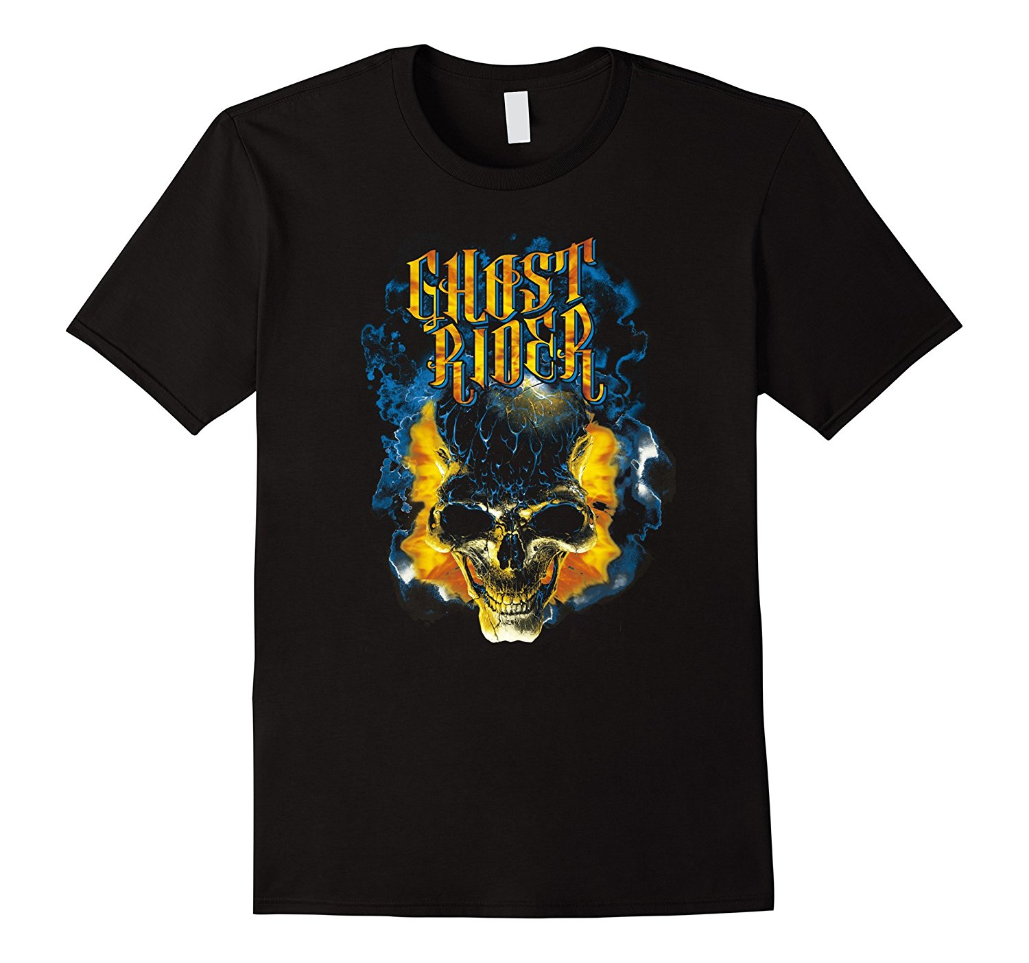 Gildan Ghost Rider Skull Urban Street Flames Graphic T Shirt MenS T Shirts Summer Style Fashion Swag Men T Shirts S 3Xl