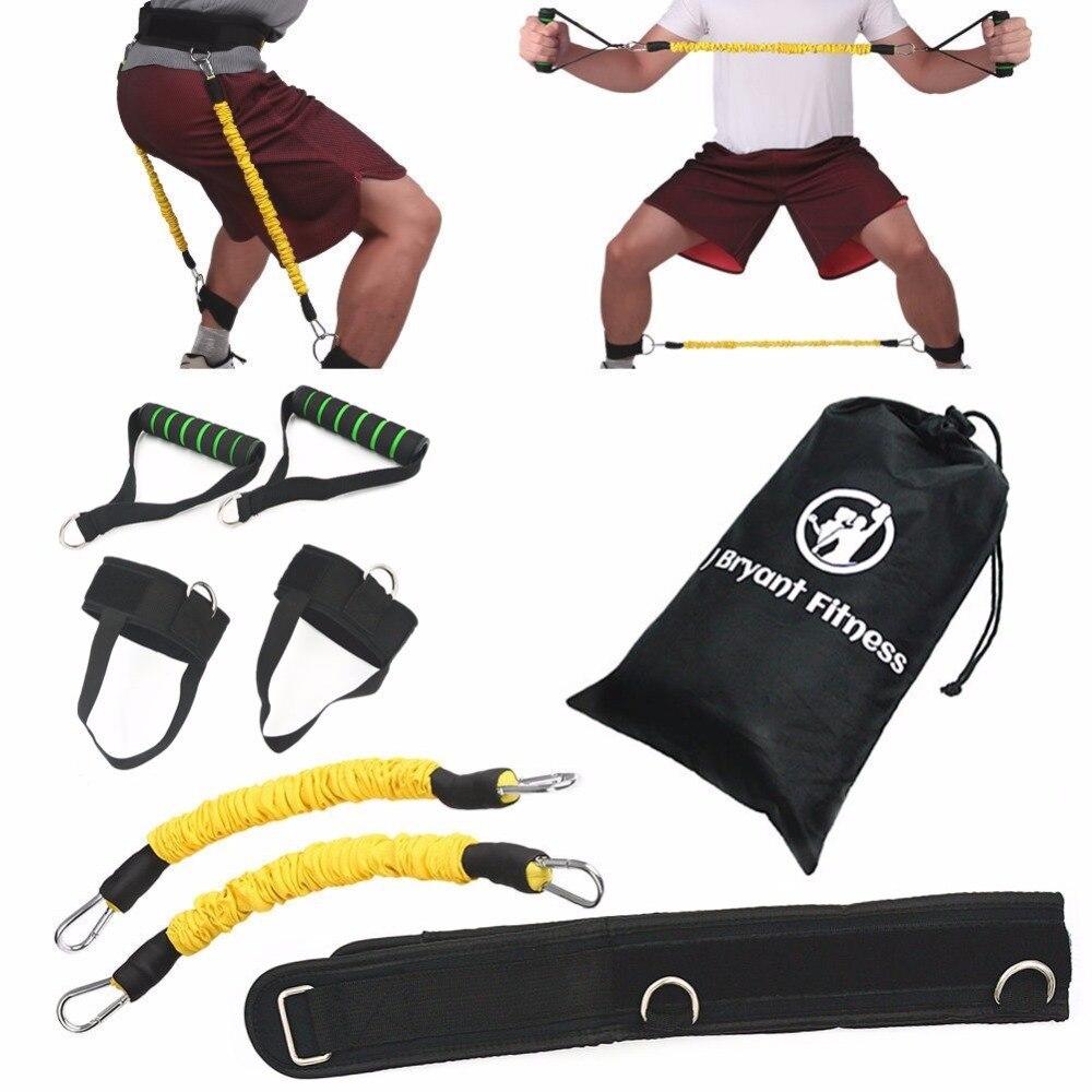 Jump Trainer Gummibänder für Fitness Expander Widerstand-bänder Stellten Basketball Volleyball Fußball Bein Agility Ausbildungs
