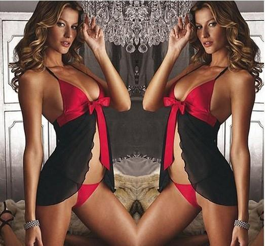 Women Sexy Lingerie Lace Transparent Sexy Underwear Set Sexy Costumes Nightgown font b Sex b font