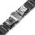 20mm 22mm completo de cerámica venda de reloj para iwc venda de reloj de pulsera Reemplazo de la correa Brazalete de Eslabones Mejorada + Herramienta + Pin Negro blanco