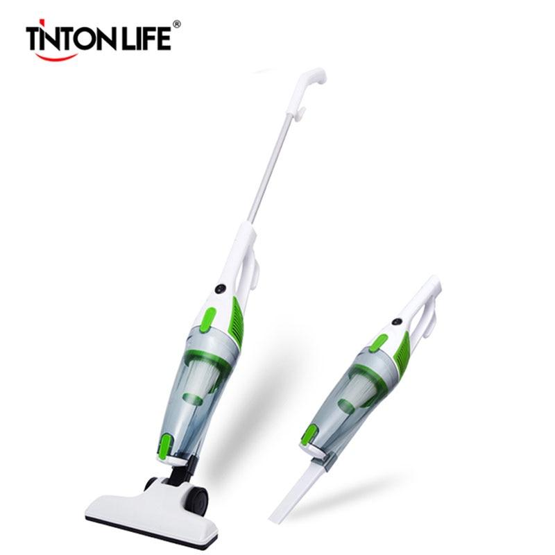TINTONLIFE Portable Ultra-quiet Vacuum Cleaner Mini Handheld Suction Machine Mite Terminator