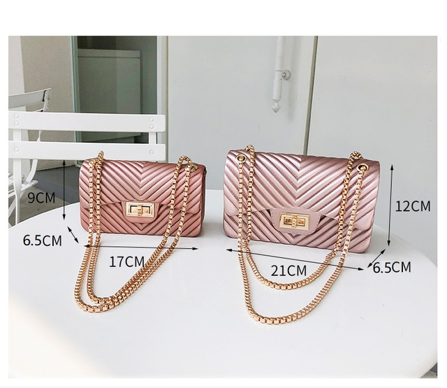 new Famous Brand Leather Messenger Bags Luxury Shoulder Bag Quilted Designer Handbags Women Bag Vintage Female Chain Jelly pack