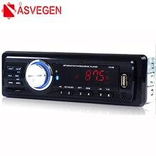 Asvegen 1 Дин Радио 12 В стерео Mp3 плеера Авто аудио стерео SD/MMC USB AUX-в Bluetooth зарядки телефона
