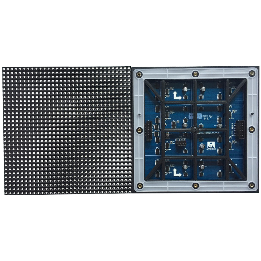 32*32dots Outdoor P6 SMD3535 Waterproof Led Module 192*192mm 1/8Scan Rgb Display LED Panel For Led Screen