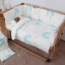 Детский бампер, постельные принадлежности, детский спальный сейф, мягкие младенцы Новорождённые, протектор, бампер, подушка, мультфильм, медведь, кровать, бампер, новинка