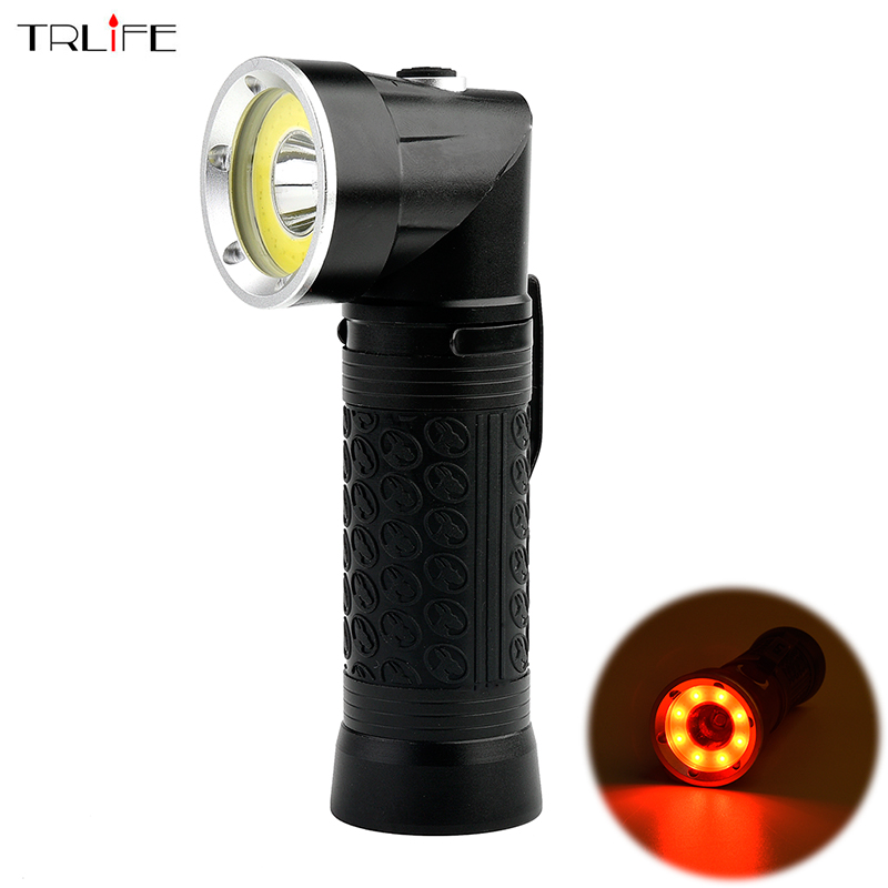 5000Lumens CREE XML T6+COB Led Flashlight Waterproof Torch Adjustable Lanterna Lamp for 18650 or AAA Hunting Fishing Light 3800 lumens cree xm l t6 5 modes led tactical flashlight torch waterproof lamp torch hunting flash light lantern for camping z93