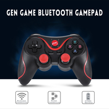 Gen game X3 updated t3 Gamepad Joystick Wireless Bluetooth 3.0 Android Gamepad Gaming Remote Control for phone PC Tablet TV Box