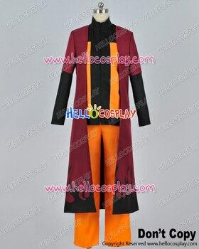 Naruto Cosplay Naruto Uzumaki Cape Uniform Costume H008
