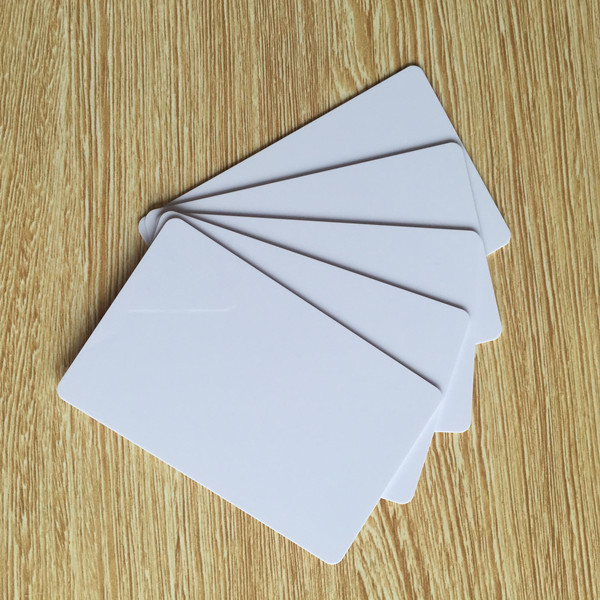 RFID Card Blank Inkjet Printable 13.56Mhz ISO14443A 1k Work With NFC Phone Free Shipping 10pcs/lot