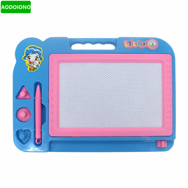 Painting Board Kids Colorful Plastic Magnetic Drawing Tablet Toys
