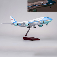 kids toys 1/150 Scale Diecast 1:150 Air Force One Airplane Aircraft Model collections toys for gift