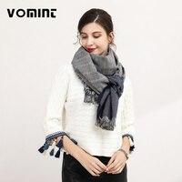 Vomint 2017 Brand New Design Top Quality Women S Fashion Scarf Winter Warm Blankets Stripe Large