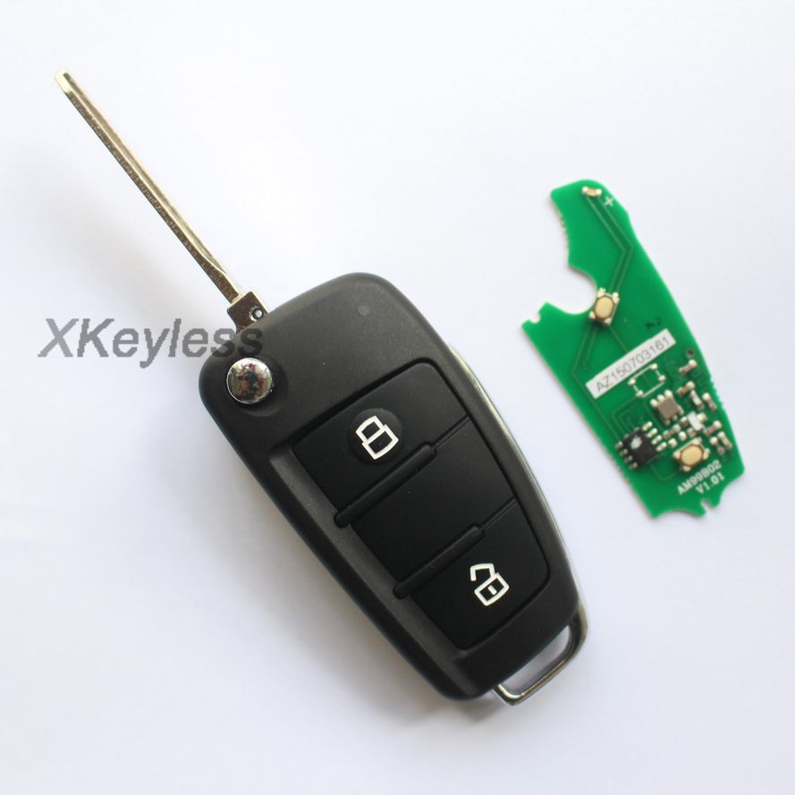 For JAC J3 J5 J6 Tojoy Heyue Car Fob Remote Key Control Transmitter 315mhz