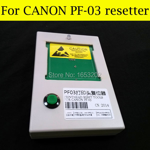 Selling! Printhead Resetter For Canon PF-03 Use For Canon iPF8000s iPF9000 iPF9110 iPF8010s iPF9000s iPF9010s Printer hot sale for canon pf 03 print head resetter compatible for canon ipf5000 5100 6100 6200 8000 8100 8110 9000 9100 9110 printer