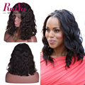 Brazilian Full Lace Bob Wigs Short Lace Front Wigs Human Hair Glueless Lace Front Human Hair Wigs Brazilian Wavy Full Lace Wigs