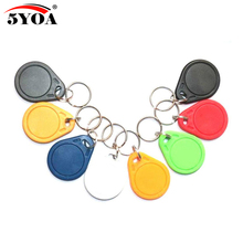 10pcs UID 13.56MHz IC Card Clone Changeable Smart Keyfobs Key Tags Card 1K S50 RFID Access Control Block 0 Sector Writable