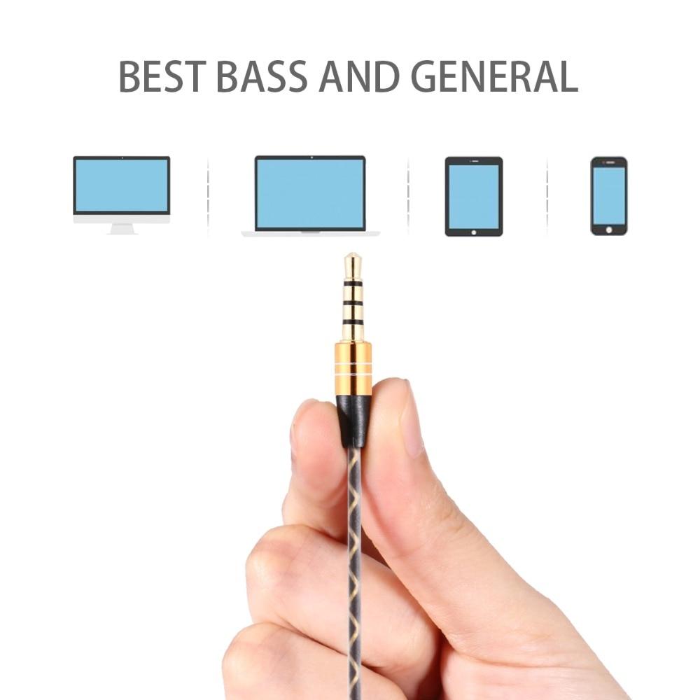 Bada hörlurar med hörlurar med hörlurar med mikrofon Magnetisk - Bärbar ljud och video - Foto 5