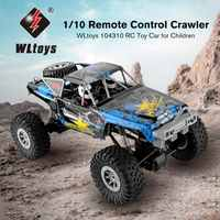 WLtoys 104310 1/10 RC Car 2.4Ghz Remote Control Car Electric Crawler Simulation RC Off-road Vehicle Truck Car Toy for Child Gift