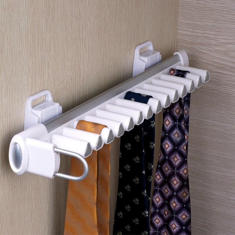 Armoire matériel accessoires série multifonctionnel armoire cravate rack hommes pince à cravate cintre