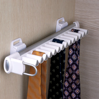 Wardrobe hardware accessories series Multifunctional cabinet tie rack Men's tie clip hanger