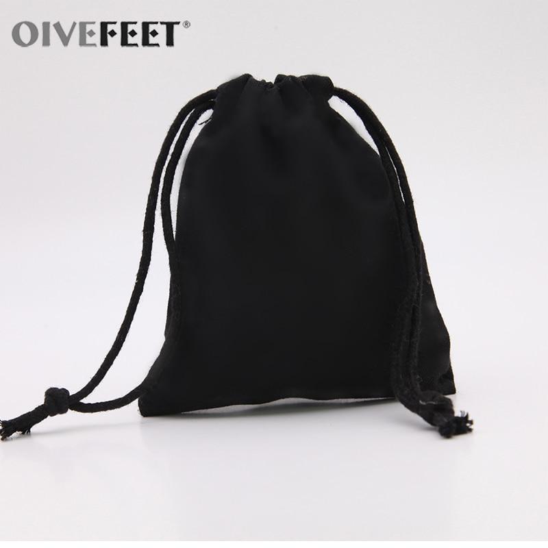 ef6bc1098f Large capacity man travel bag daily Boys black drawstring backpack men bag  blank solid color Plain. OIVEFEET