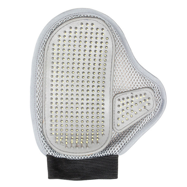 New practical cloth dog hair cleaning brush comb massage bath glove tools pet accessories products for dogs cat grooming