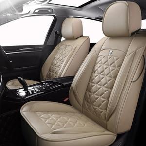 Image 1 - (ด้านหน้า + ด้านหลัง) พิเศษรถหนังที่นั่งสำหรับ volvo v50 v40 c30 xc90 xc60 s80 s60 s40 v70 อุปกรณ์เสริมสำหรับรถยนต์