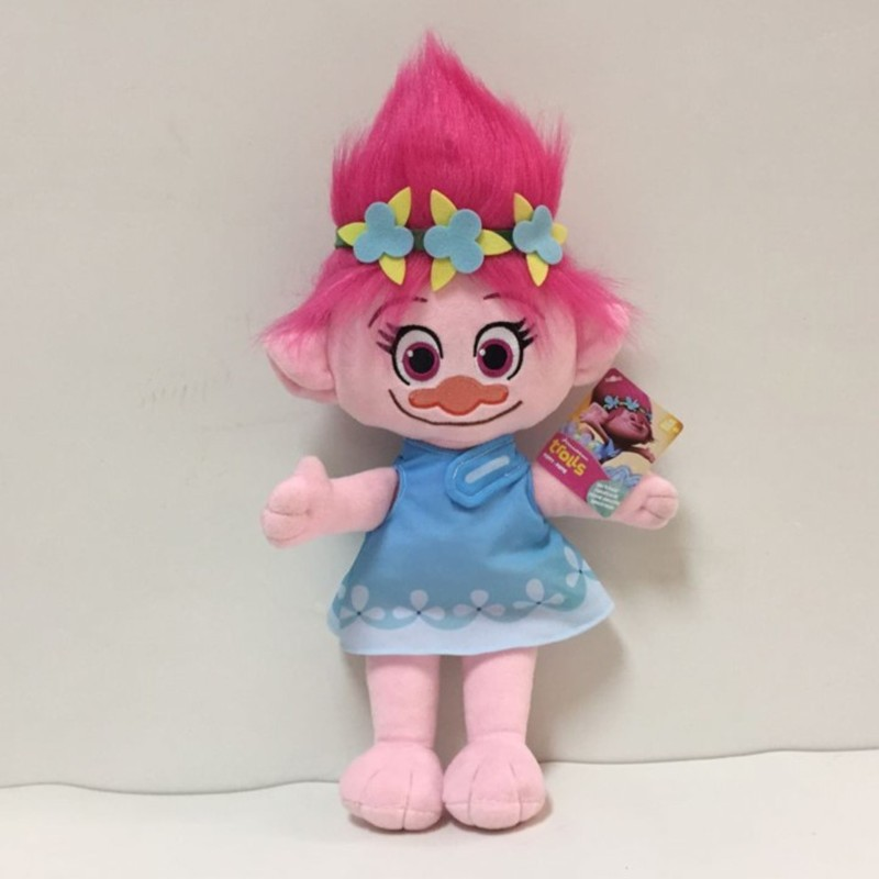 23CM-Trolls-Plush-Toy-Poppy-Branch-Dream-Works-Stuffed-Cartoon-Dolls-The-Good-Luck-Christmas-Gifts