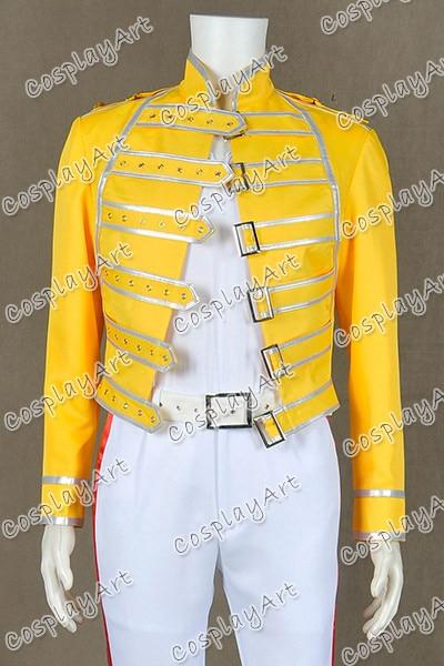 Banda Queen Freddie Mercury Vocalista Cosplay Traje
