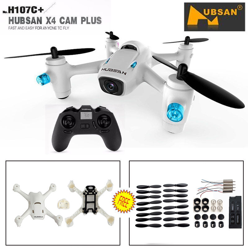 Free Shipping Hubsan X4 Plus H107C 2 4G 4CH RC Quadcopter 720P Camera Spare Parts Crash