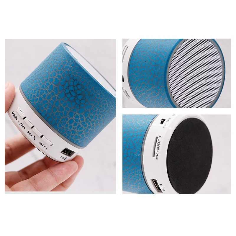 מיני אלחוטי רמקול טור Bluetooth רמקול סדק LED TF USB soundbar סאב רמקולים mp3 סטריאו אודיו מוסיקה נגן