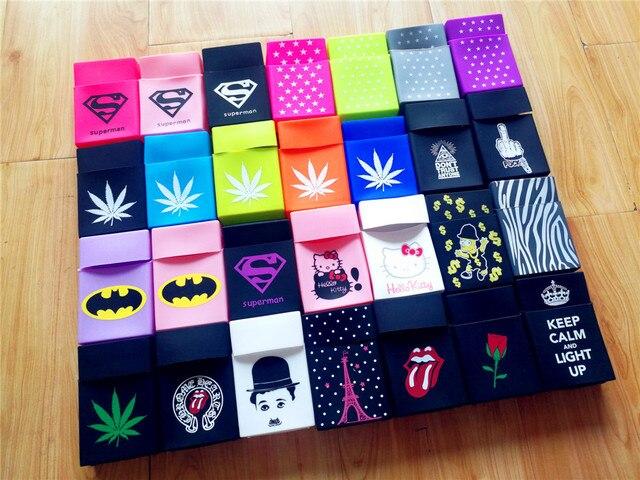 Супермен звезды Keep Calm для женщин/для мужчин Мягкие Резиновые чехол для портсигара курение карман портативный сигареты Box Сигарет Пакет