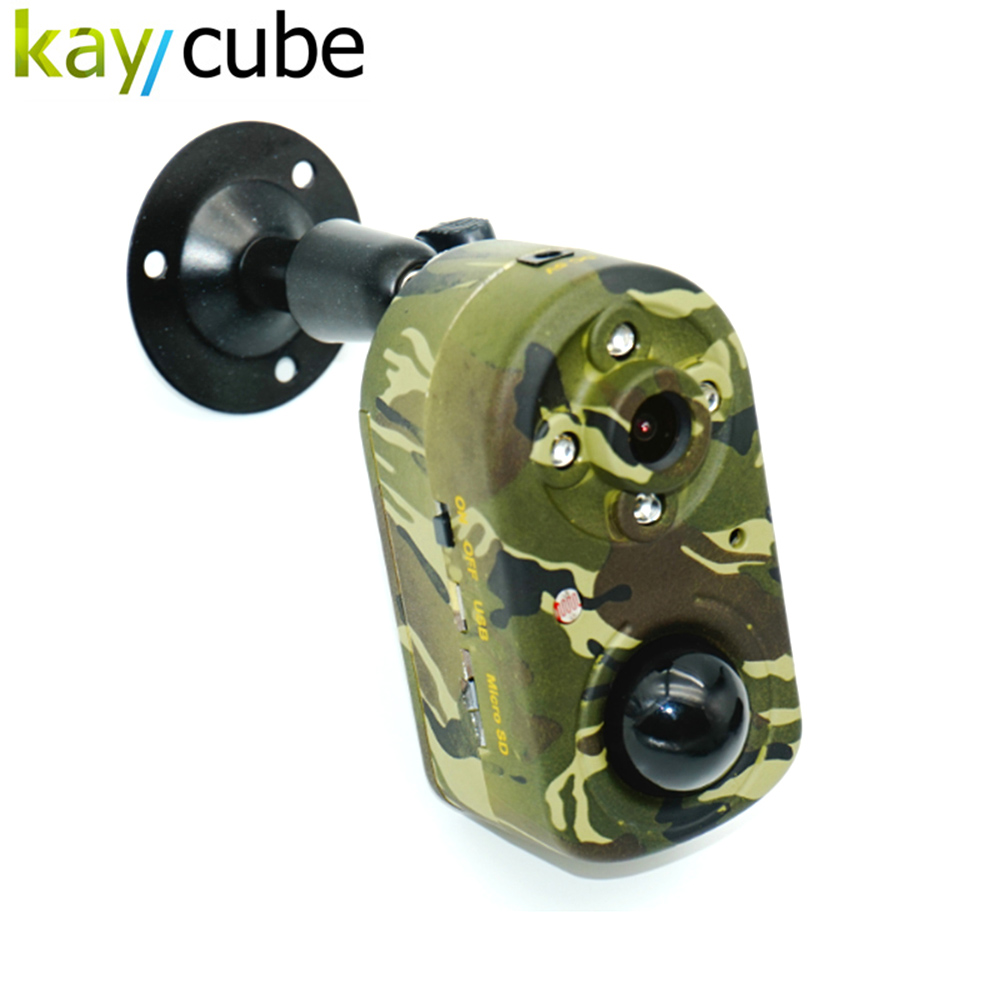 Kaycube PR-680 PIR capteur de mouvement jour/nuit enregistreur vidéo caméra DVR chasse CAM haute sensibilité capteur de chaleur humaine et 940nm IR LED