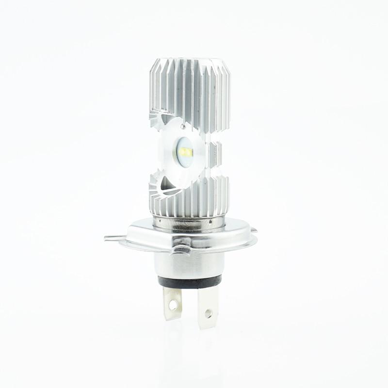 Motorcycle Headlight Bulbs LED H4 HS1 BA20D P15D-25-1 Hi/Lo Lamp Scooter Headlamp Moto Lights 12V 1000Lm motorbike light bulb