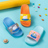 2019 new kids shoes summer indoor baby bathroom slippers animal cute flip flops children's home slippers boys girls water shoes